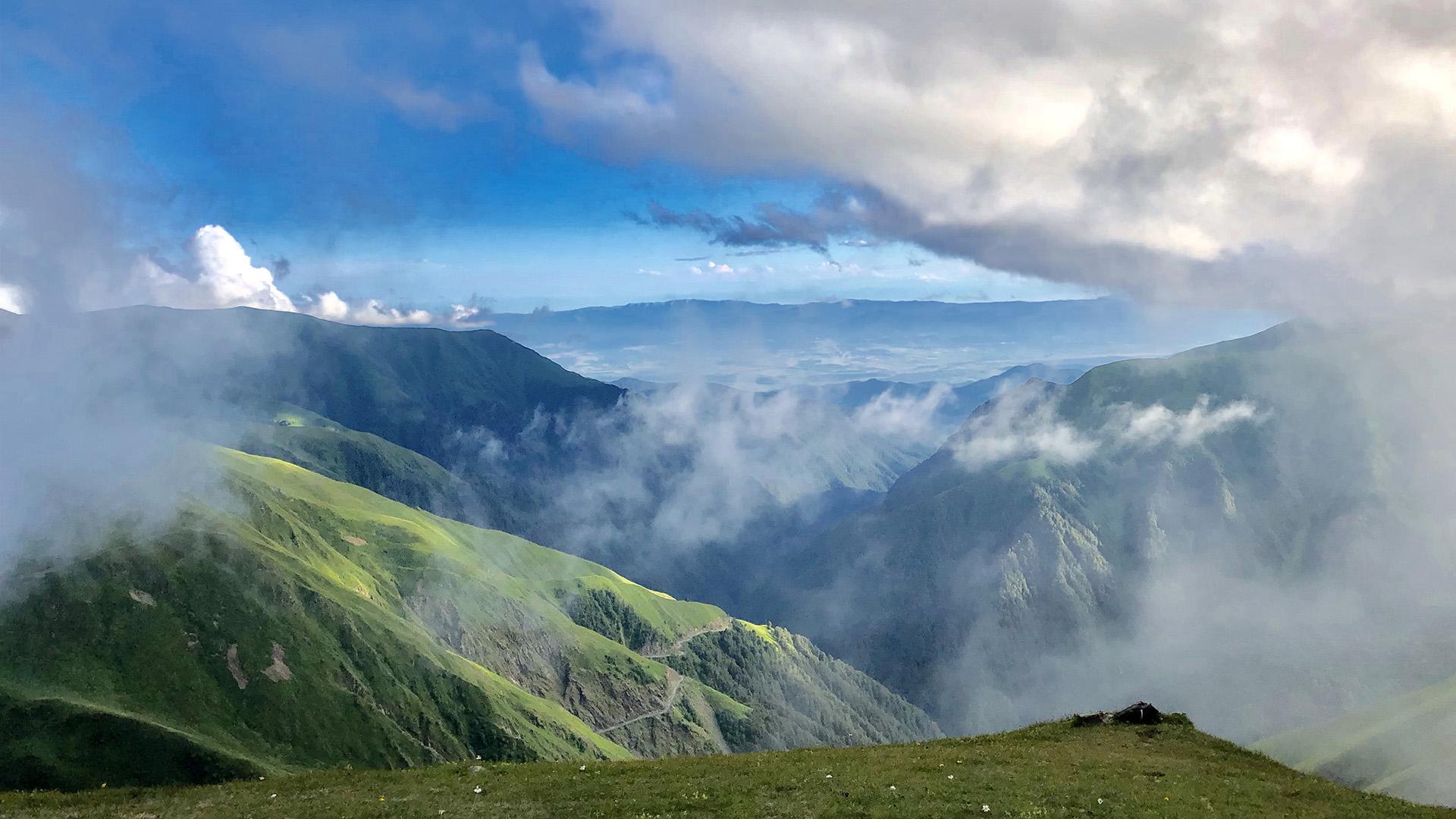 Tusheti clouds